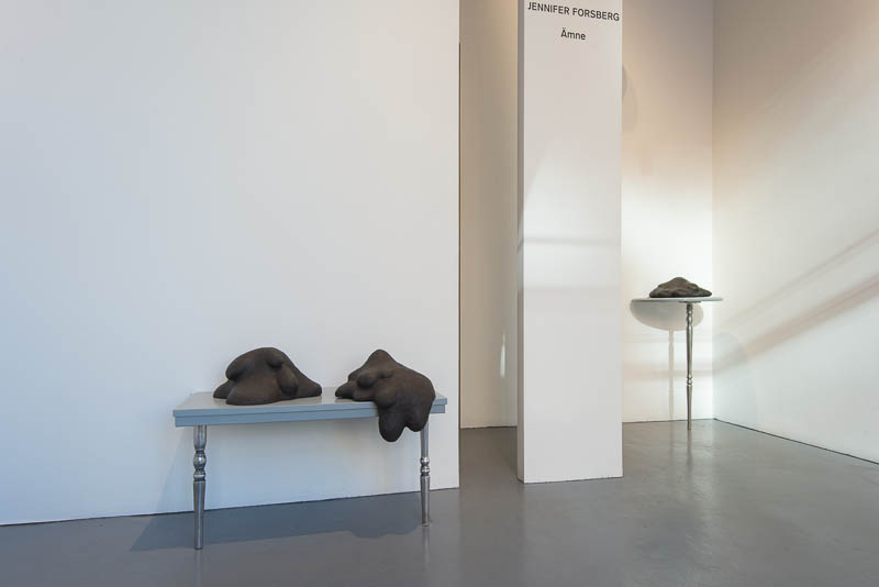Jennifer Forsberg - exhibition at galerie Mårtensson and Persson, 2013